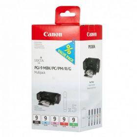 Чернильницы оригинальный CANON PGI-9 MBK/PC/PM/R/G MULTIPACK