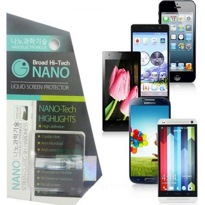 Нано жидкость для защиты экрана телефона от царапин