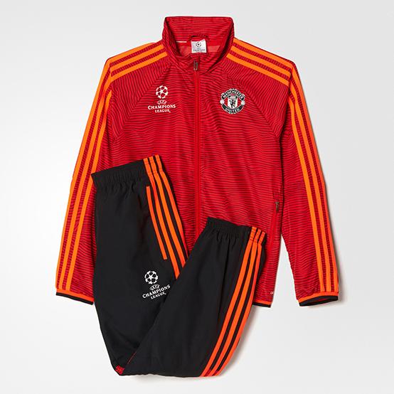 8866fb59 Adidas MUFC EUPRESUITY парадный спортивный костюм купить в Москве на  ilovefootball