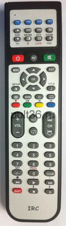 Пульт IRC PANASONIC TV,VCR,AUX 12F