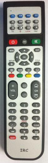 Пульт IRC SUPRA TV DVD 28F