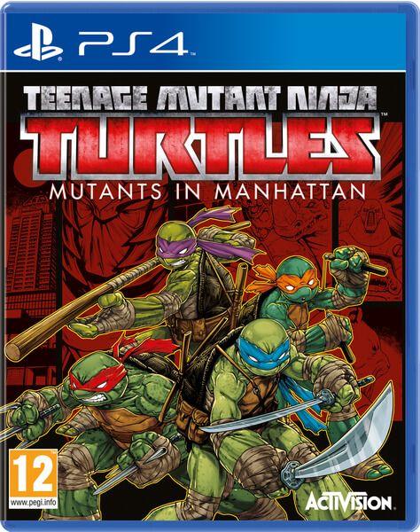 Игра Teenage Mutant Ninja Turtles: Mutants in Manhattan (PS4)