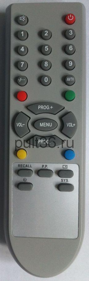 Пульт ДУ Erisson CT-21HS7/26T-1 Hyundai H-TV2910SPF КНР