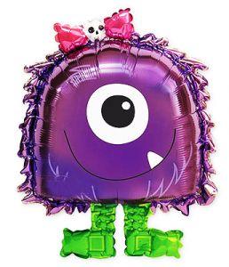 Ходячий шар Фиолетовый монстр (52/132 см)
