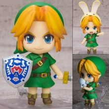 Оригинальная фигурка нендороид Линк по игре Легенда о Зельде / Nendoroid 553 The Legend of Zelda: Link Majora's Mask 3D Ver. figure