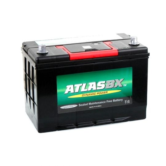 Автомобильный аккумулятор АКБ ATLAS (Атлас) MF60045 100Ач о.п. нижнее крепление