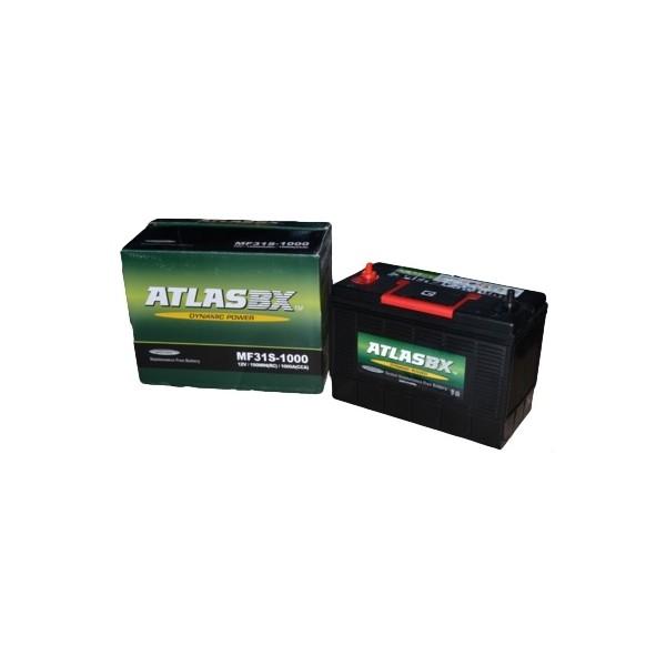 Автомобильный аккумулятор АКБ ATLAS (Атлас) MF31S 105Ач у.п. винт.клеммы