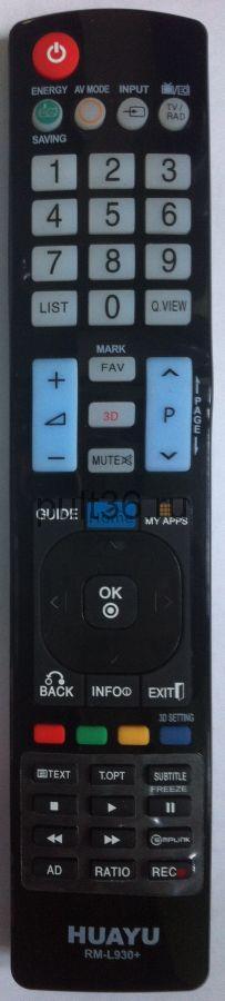 Пульт ДУ LG RM-L930 универсальный  (корпус AKB 72914293)