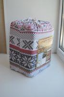 Упаковка Постельное белье из фланели  Норвежский узор вязаный, Туркменистан