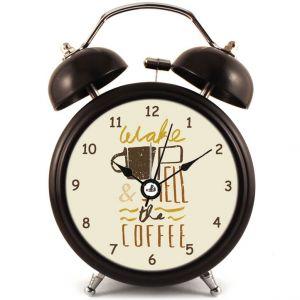 Прикольный Будильник Smell the coffee