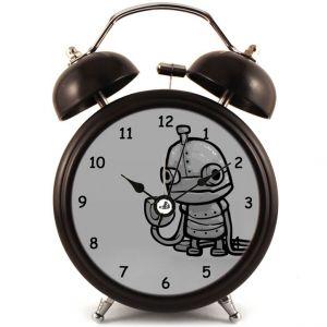 Прикольный Будильник Робот