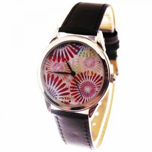 Прикольные наручные часы Bright flowers