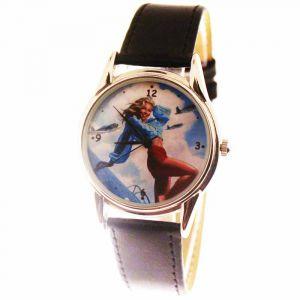 Прикольные наручные часы Girl 2