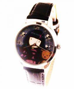 Прикольные наручные часы Девочка и мишка