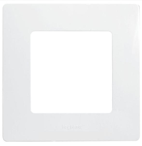 Рамка Etika P 1-м 672501 белая