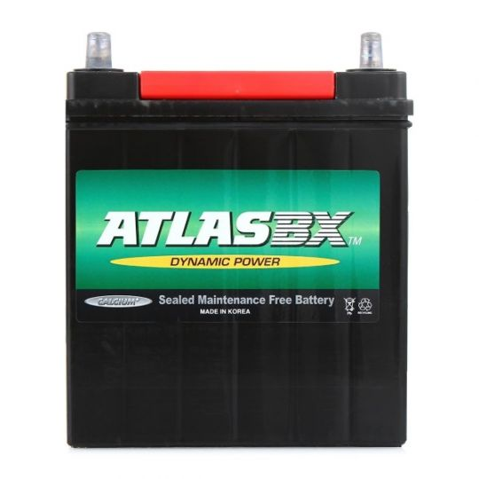 Автомобильный аккумулятор АКБ ATLAS (Атлас) MF42B19R 38Ач п.п.