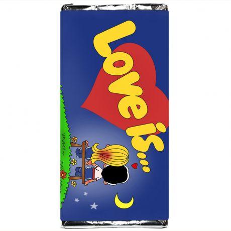 Шоколадка Love is