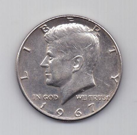 1/2 доллара 1967 г. США