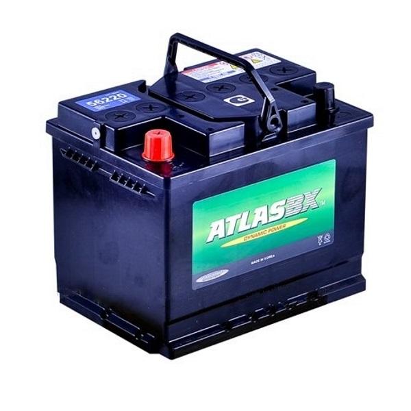 Автомобильный аккумулятор АКБ ATLAS (Атлас) 55565 55Ач п.п.