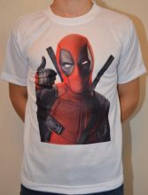 Футболка Дэдпул Марвел / Deadpool Marvel T-shirt (44,)