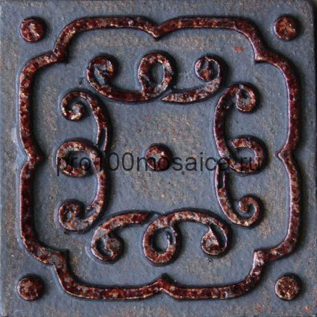 D 03/07 Декор 48*48 серия DECOS, размер, мм: 48*48*10 (Skalini)