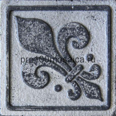 D 02/11 Декор 48*48 серия DECOS, размер, мм: 48*48*10 (Skalini)