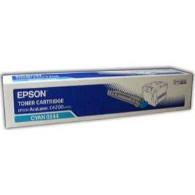 Тонер-картридж оригинальный EPSON голубой для AcuLaser C4200