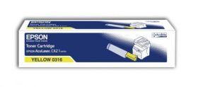 Тонер-картридж оригинальный EPSON желтый для AcuLaser CX21