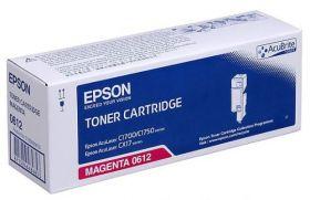 Тонер-картридж оригинальный EPSON пурпурный для AcuLaser C1700/C1750/CX17