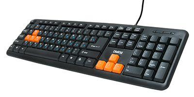 Клавиатура Dialog KS-020U Black-Orange