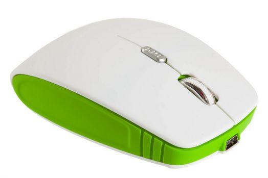 Мышь беспроводная Smartbuy 336CAG бело/зеленая (зарядка от USB)