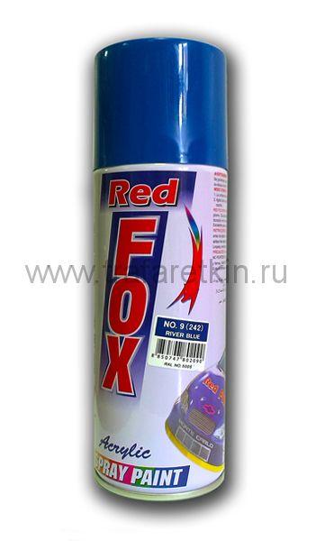 Краска-спрей RED FOX (синяя RAL 5005)