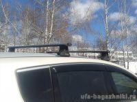 Багажник на крышу Peugeot 3008, Атлант, аэродинамические дуги