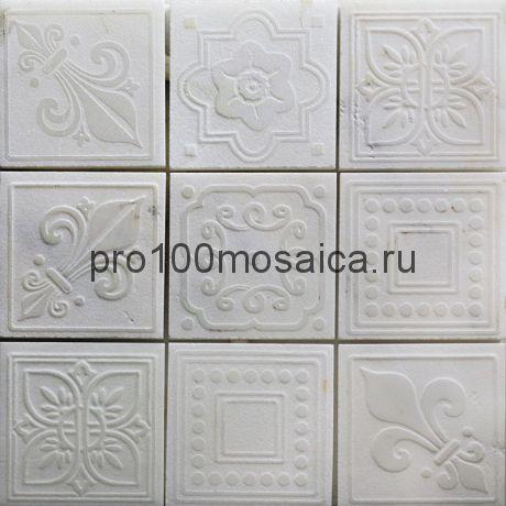TRG-11 Мозаика 98*98 серия TRAFALGAR, размер, мм: 300*300*10 (Skalini)