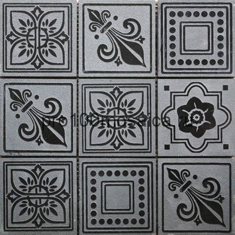 TRG-10 Мозаика 98*98 серия TRAFALGAR, размер, мм: 300*300*10 (Skalini)