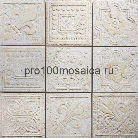 TRG-9 Мозаика 98*98 серия TRAFALGAR, размер, мм: 300*300*10 (Skalini)