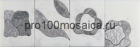 MF-2 Бордюр 305*100 серия MODERN FLOWER, размер, мм: 305*100*10 (Skalini)