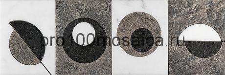 MC-6 Бордюр 305*100 серия MODERN CIRCLE, размер, мм: 305*100*10 (Skalini)