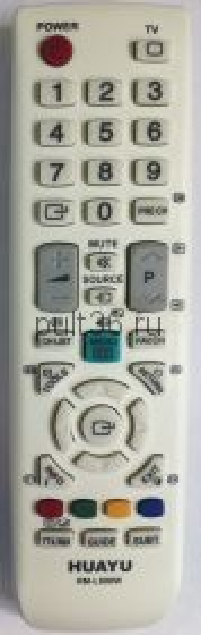 Пульт ДУ SAMSUNG RM-L800W универсальный белый