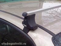 Багажник на крышу Honda Civic 2006-2011, Атлант, прямоугольные дуги