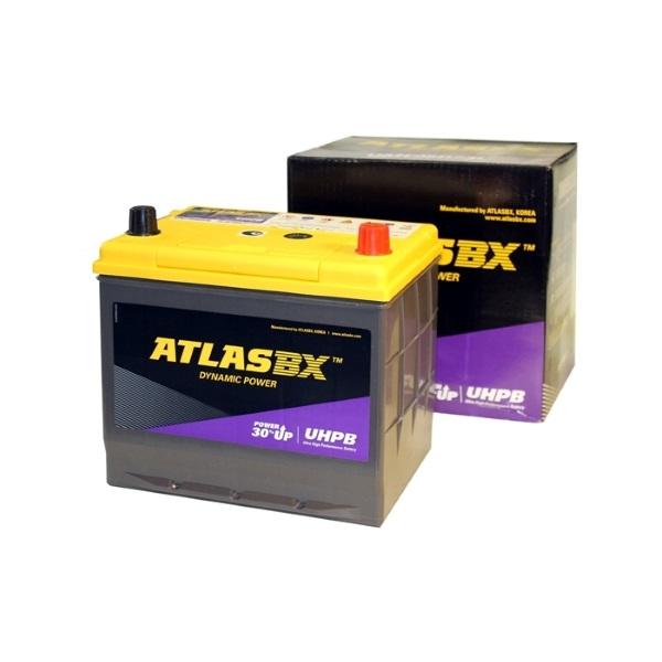 Автомобильный аккумулятор АКБ ATLAS (Атлас) UHPB UMF95D23L 75Ач о.п.