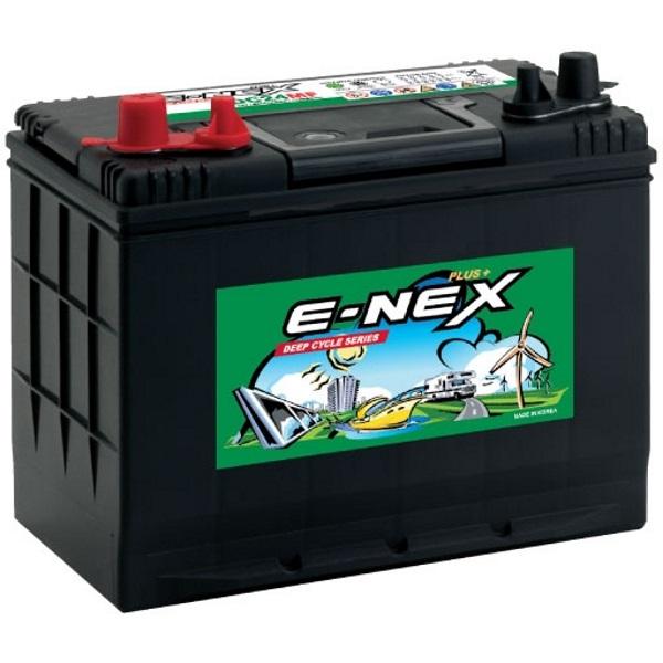 Автомобильный аккумулятор АКБ ATLAS (Атлас) E-NEX XDC24MF 80Ач п.п.