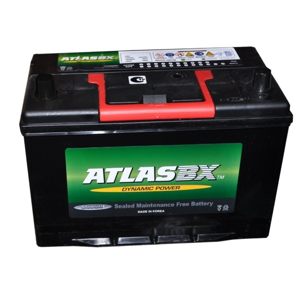 Автомобильный аккумулятор АКБ ATLAS (Атлас) 155RC MF34R-750 80Ач о.п.