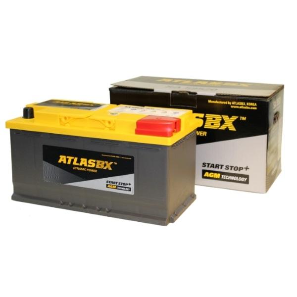 Автомобильный аккумулятор АКБ ATLAS (Атлас) AGM SA 59520 95Ач о.п.