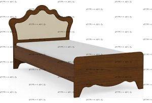 Кровать Итальянские мотивы б/о (51.106.03-04) МДФ, 2 размера