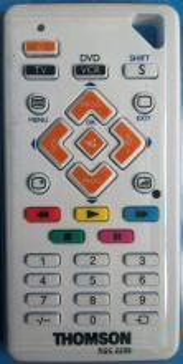 Пульт ДУ Thomson ROC2206 влагозащищенный TV/DVD универсальный программируемый