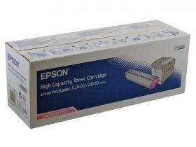 Тонер-картридж оригинальный EPSON пурпурный для AcuLaser C2600