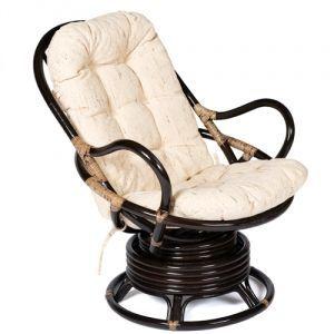 Кресло-качалка из ротанга «Флорес» (Flores 5005) + Подушка