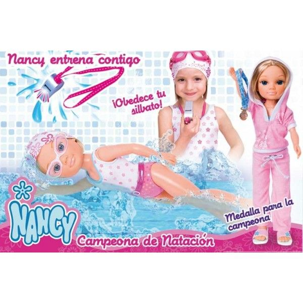 Кукла Нэнси Чемпионка. Умеет плавать!
