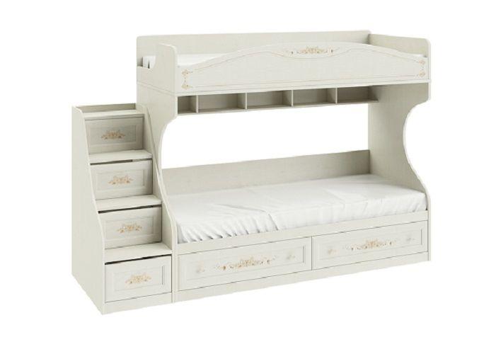 Кровать двухъярусная «Лючия» (с лестницей)